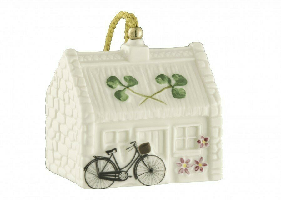 Belleek Nell's Cottage Ornament