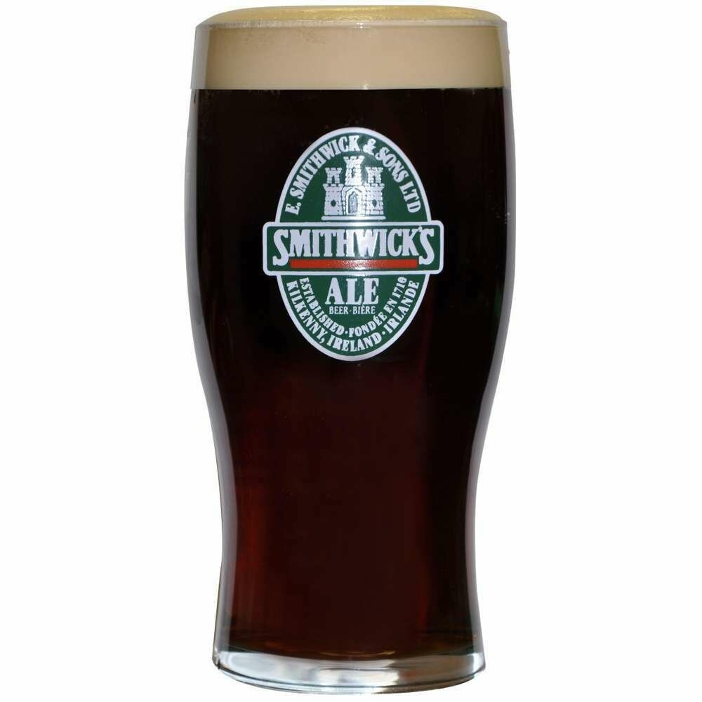 Smithwicks® Oval Label 20oz Glass