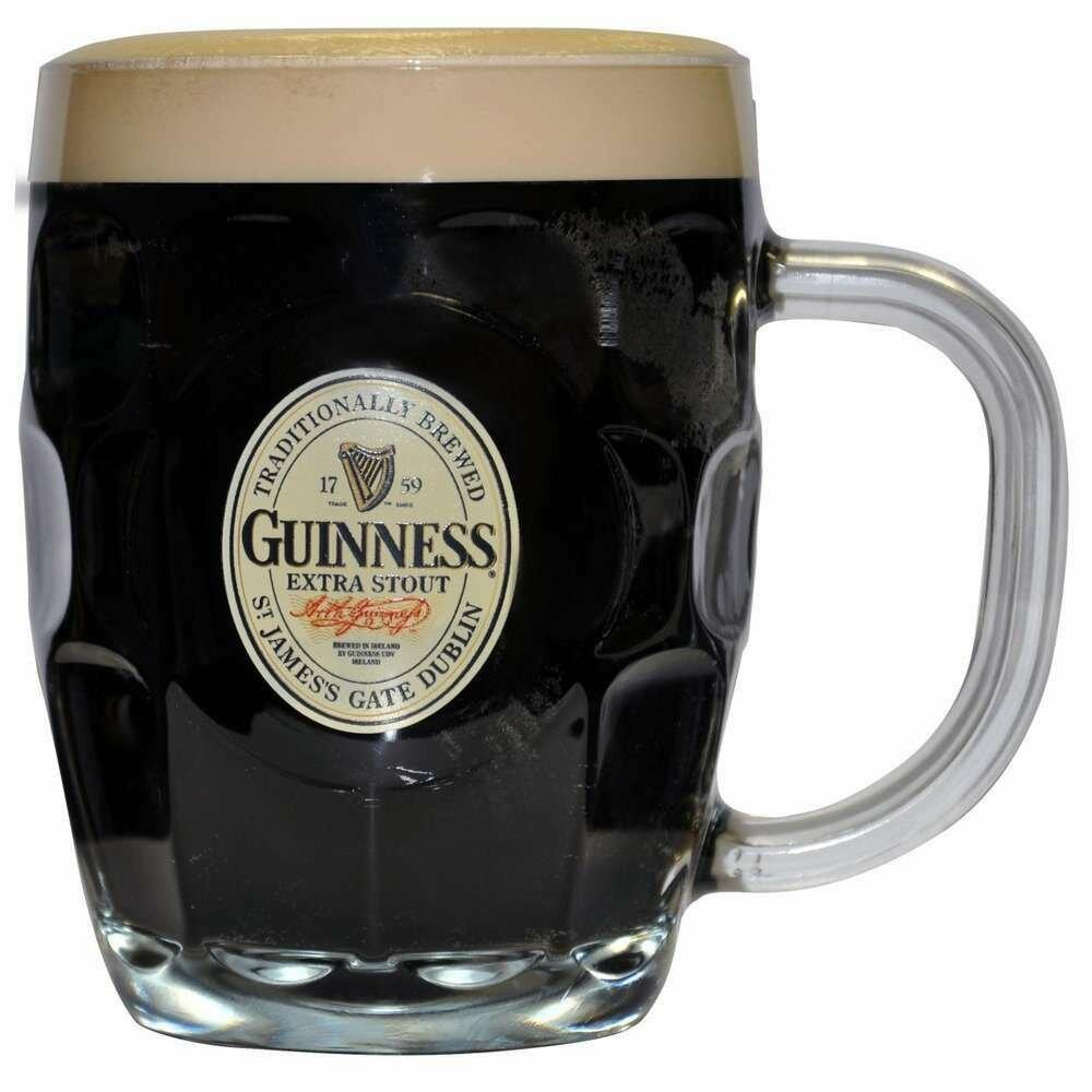 Guinness® Hobnail Label Tankard