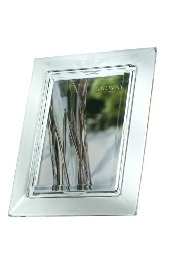Galway Irish Crystal Claddagh 5 x 7 Photo Frame