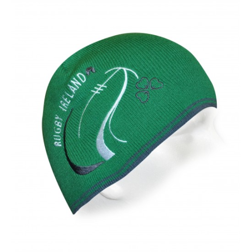 Rugby Ireland Fitted Beanie