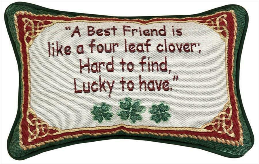 """""""A Best Friend"""" Pillow"""