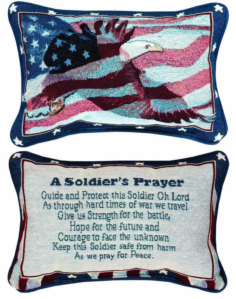 A Soldier's Prayer Pillow