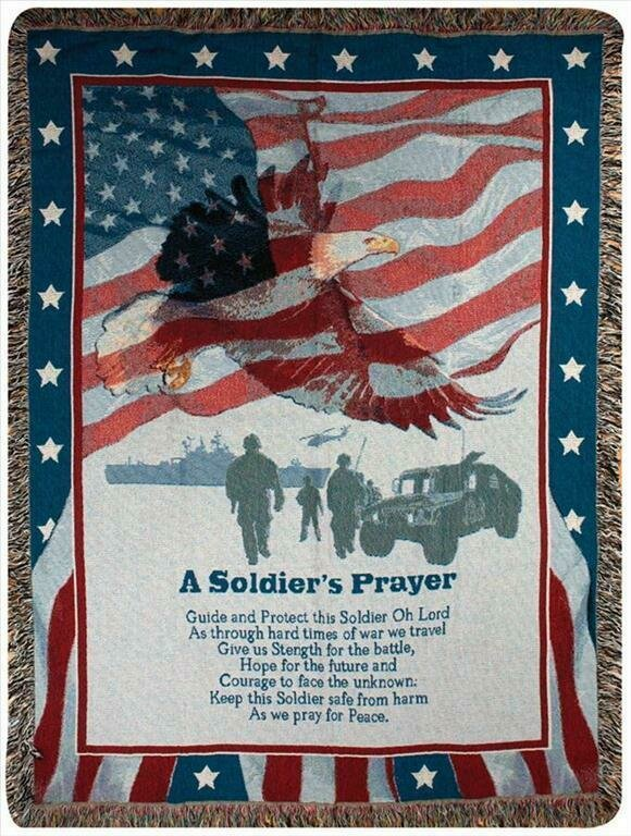 A Soldier's Prayer Blanket
