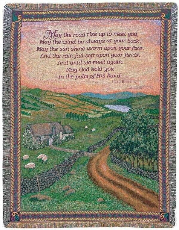 Blessing of Ireland Blanket