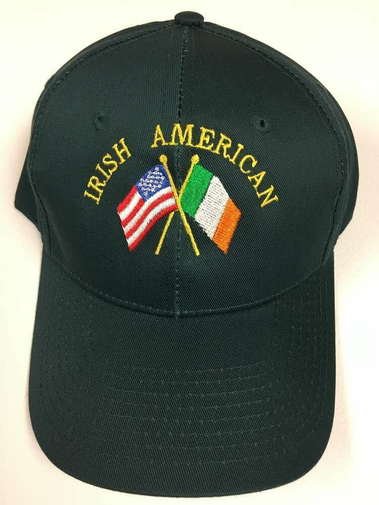 Irish American Flags Hat