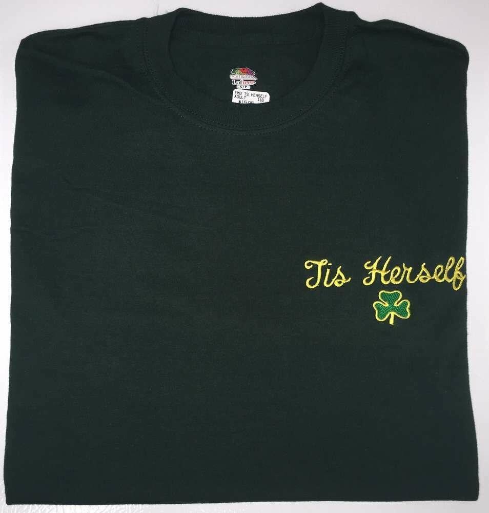 Tis Herself Shamrock T-Shirt