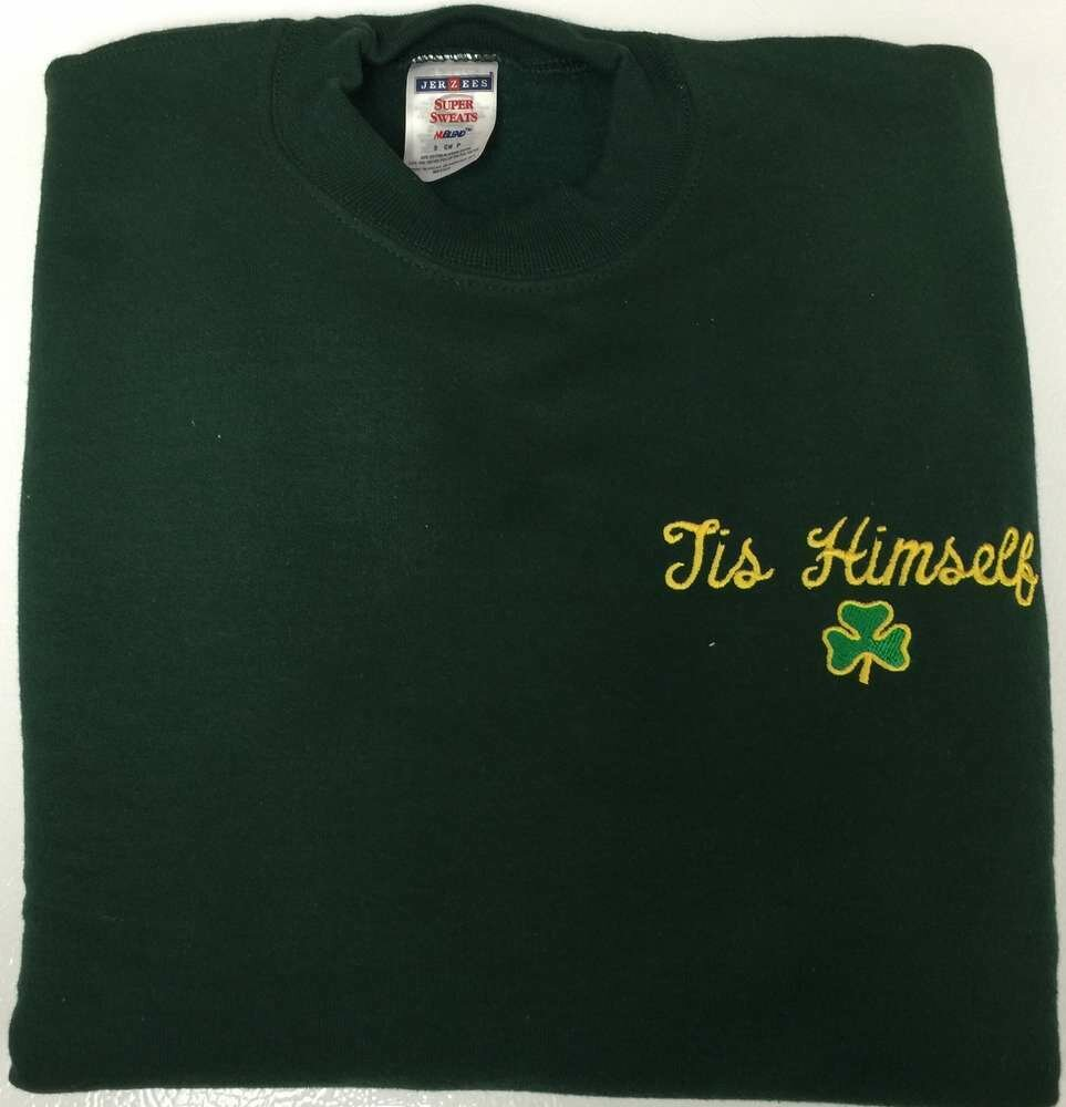 Tis Himself Shamrock Sweatshirt