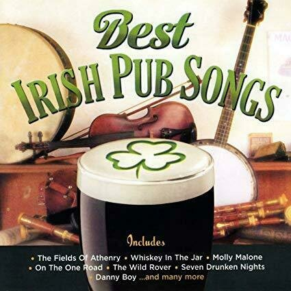 Best Irish Pub Songs CD