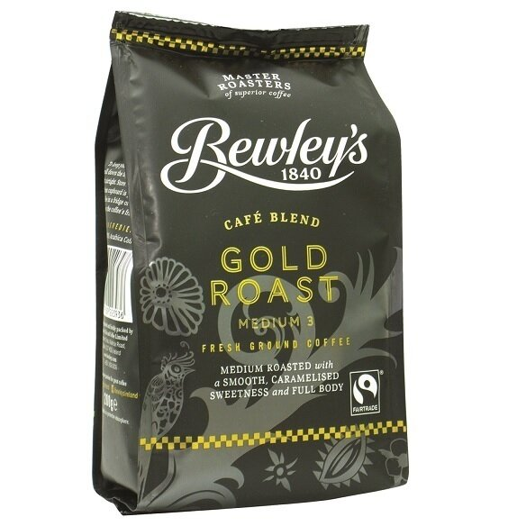 Bewley's Ground Gold Roast Coffee- 7oz. Bag