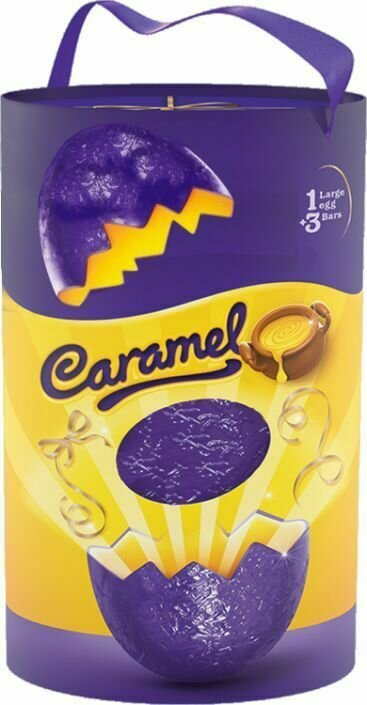 Caramel Gesture Large Gift Egg