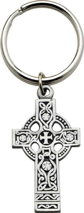 Celtic Cross Small Key Chain