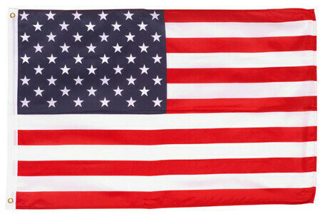 3ft. x 5ft. American Flag with Sleeve