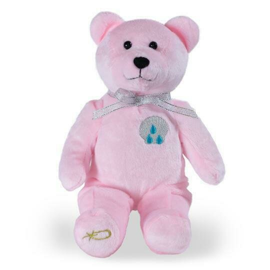 Baptism Pink Holy Bear