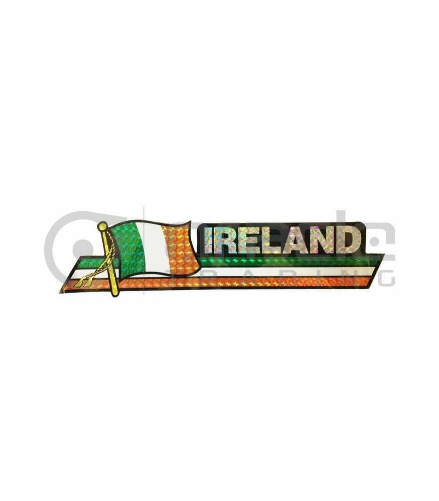 Ireland Prismatic Bumper Decal