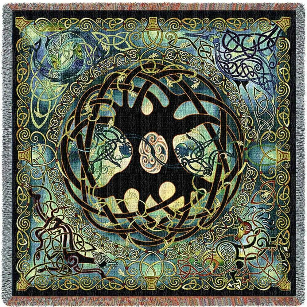 Celtic Tree of Life Blanket