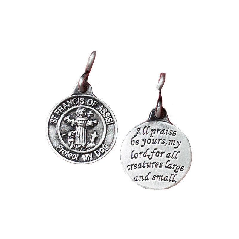 St. Francis Dog Pet Medal