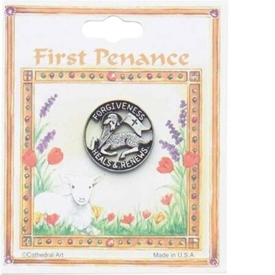 First Penance Lapel Pin
