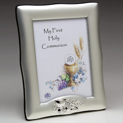 My First Holy Communion Silverplated Photo Frame