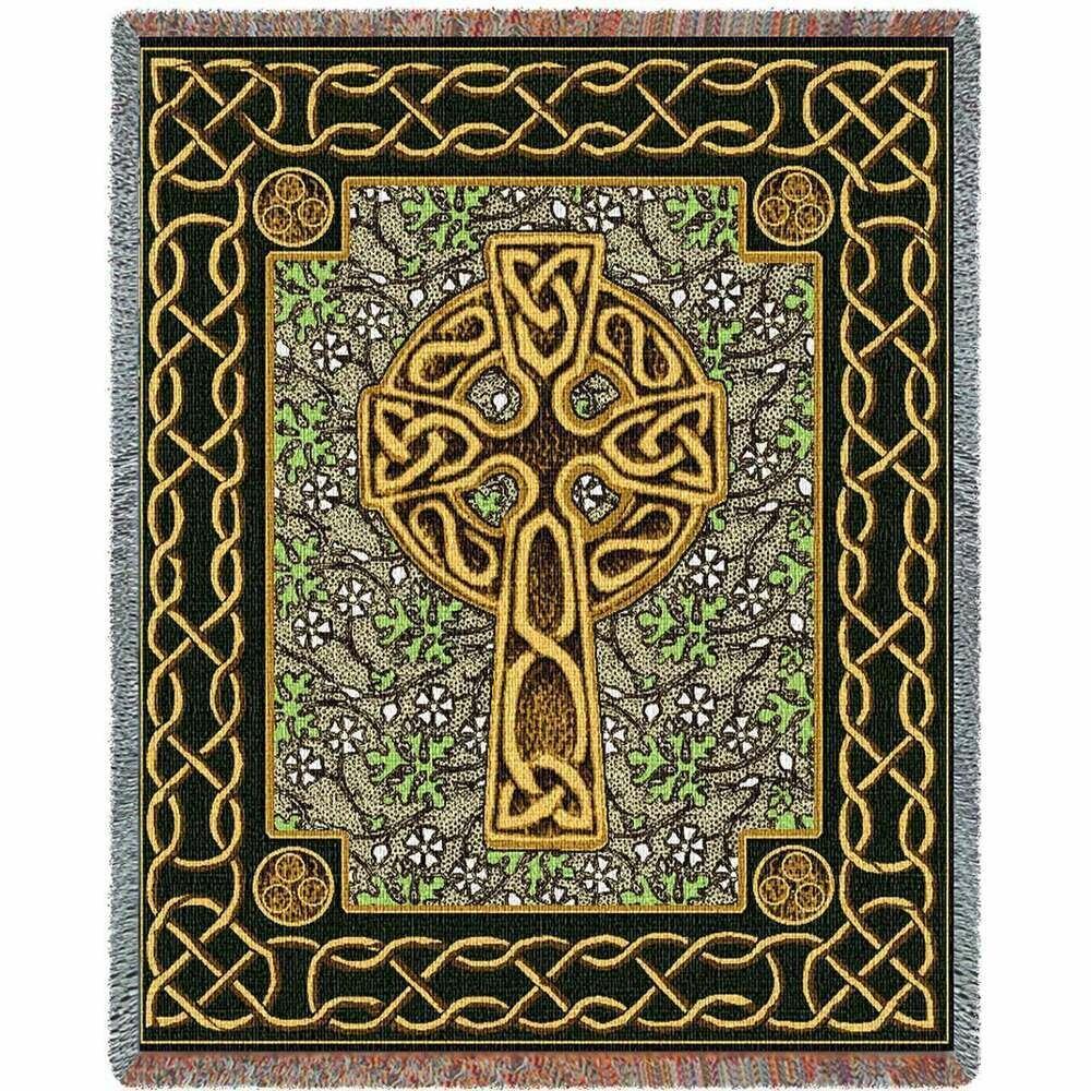 Celtic Cross Blanket