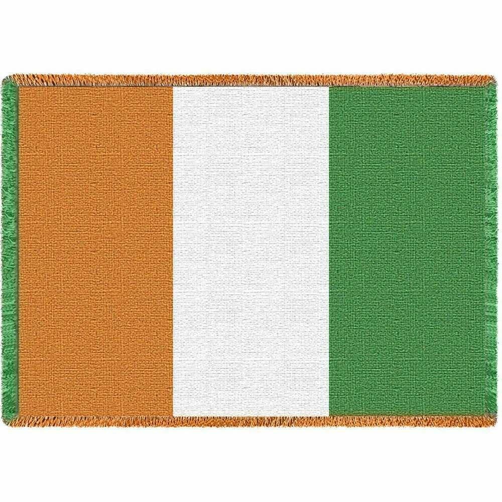Irish Flag Blanket