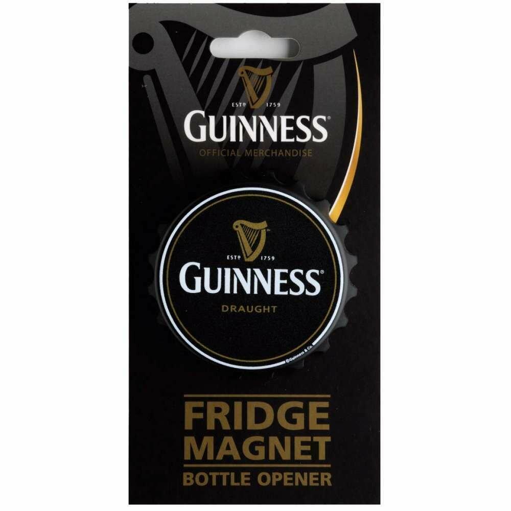 Guinness® Fridge Magnet Bottle Opener