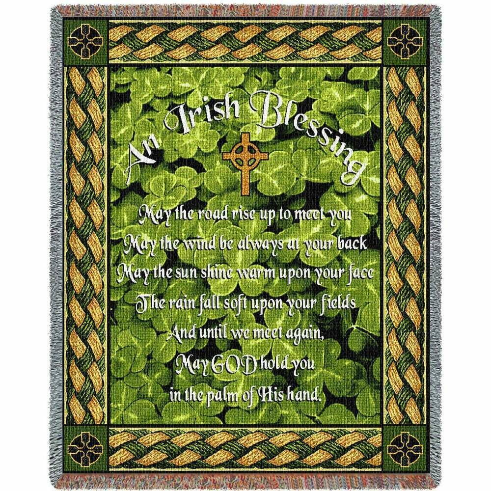 Irish Blessing Blanket