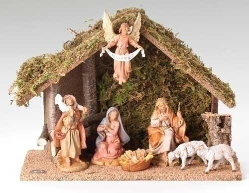 """5"""" Fontanini 7-Piece Nativity Set"""