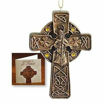 St. Patrick Cross Ornament