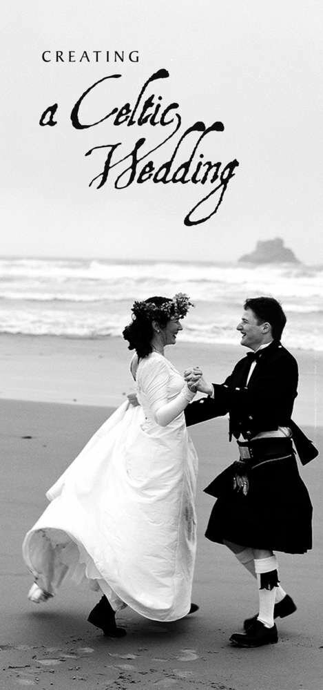 Creating a Celtic Wedding Booklet
