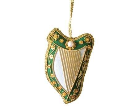 Harp Hanging Ornament