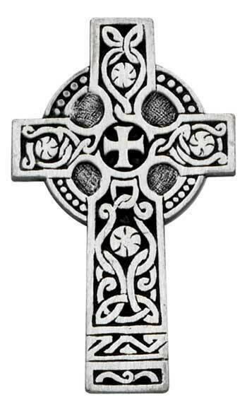 Celtic Cross Traditional Auto Visor Clip