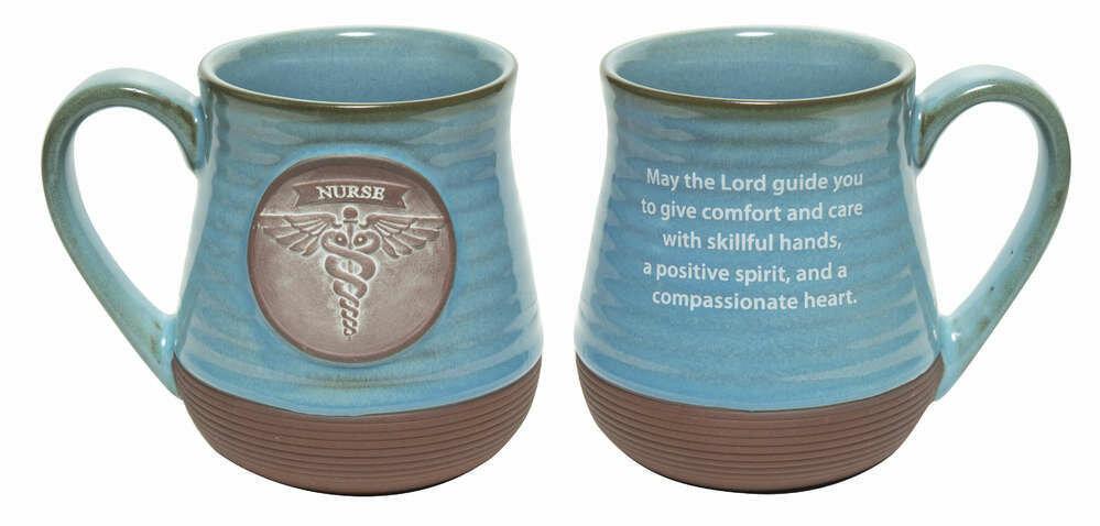 Nurse Pottery Mug