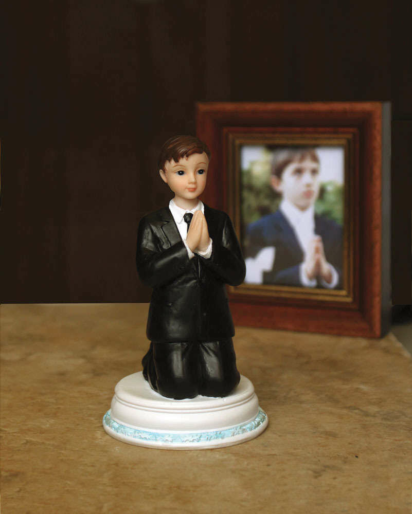 Communion Boy's Figurine