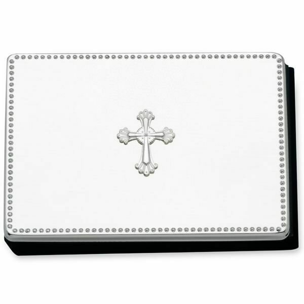 Abbey Cross Silverplate Photo Album