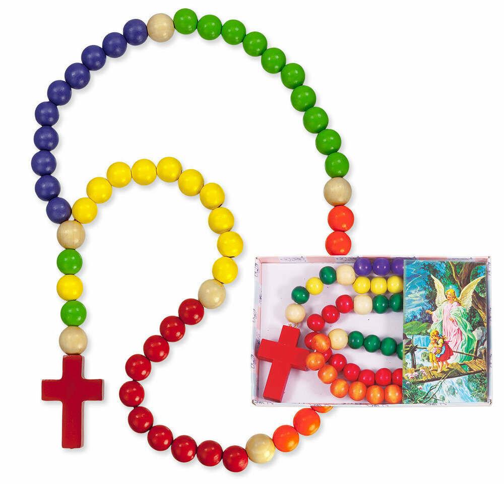 Wooden Kiddie Rosary