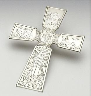 Mullingar Pewter St. Patrick's Cross