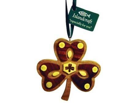 Irish Shamrock Ornament