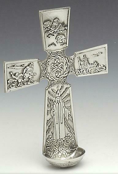Mullingar Pewter St. Patrick's Font