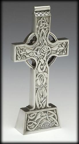 Mullingar Pewter Standing Celtic Cross