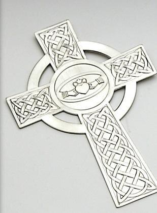 Mullingar Pewter Claddagh Cross