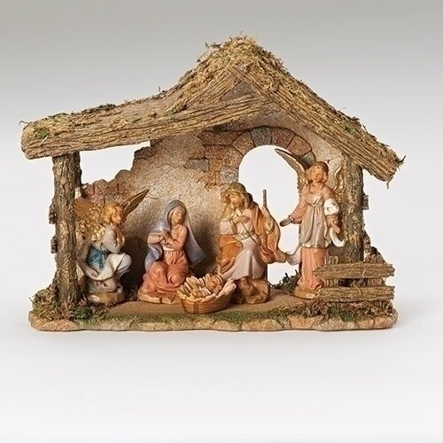 "5"" Fontanini 5-Piece Nativity Set"