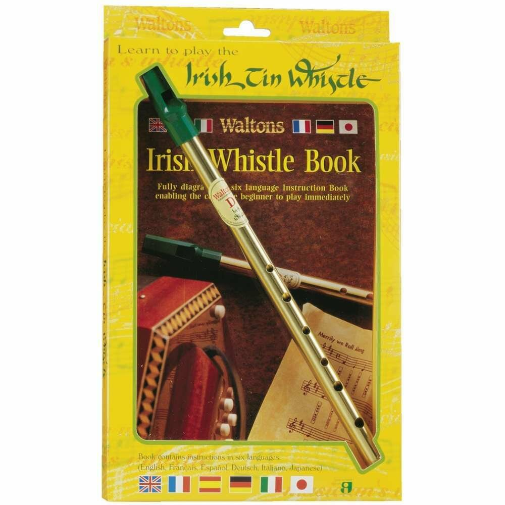 Irish Tin Whistle and Instruction Book