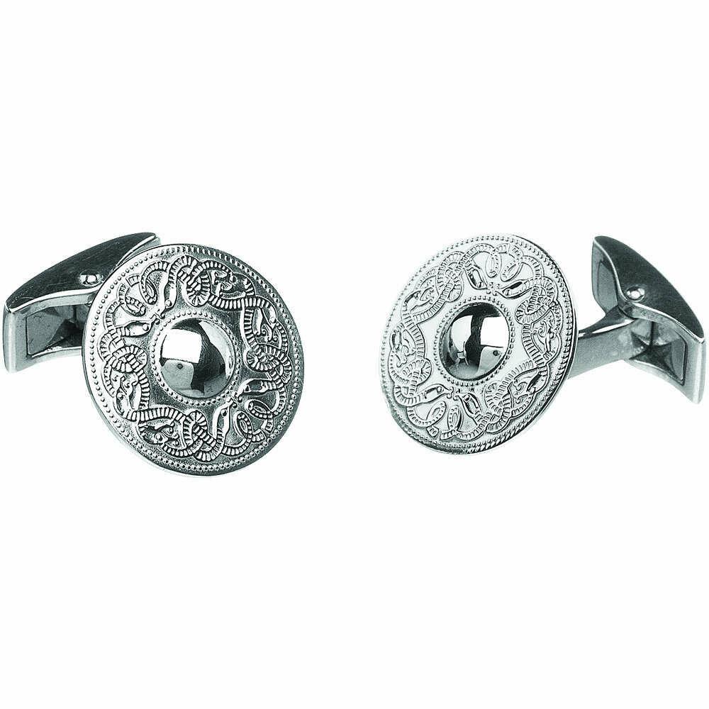 Sterling Silver Original Celtic Warrior® Cufflinks- Small
