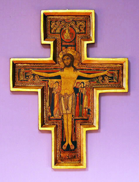 "San Damian Cross- 17"""