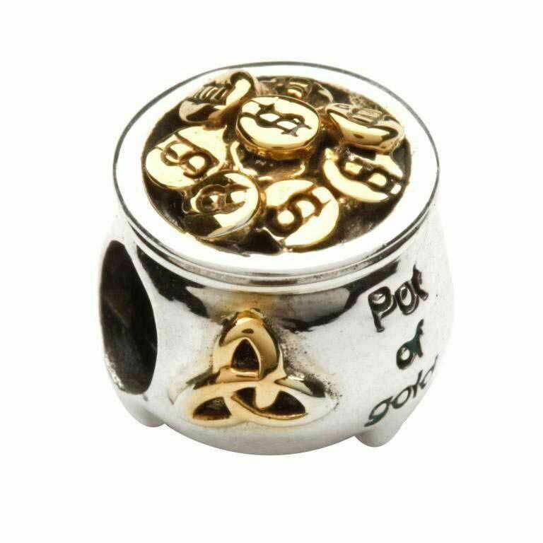 Pot of Gold- 14kt gold plate