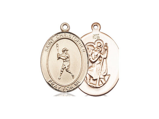 Woman or Child's Size 14kt Solid Gold Sports Medal of your Choice