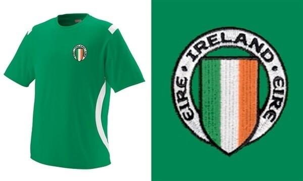 Children's Ireland Soccer Jersey