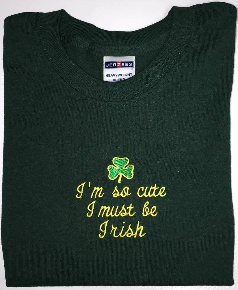 """Children's """"I'm so cute I must be Irish"""" T-Shirt"""