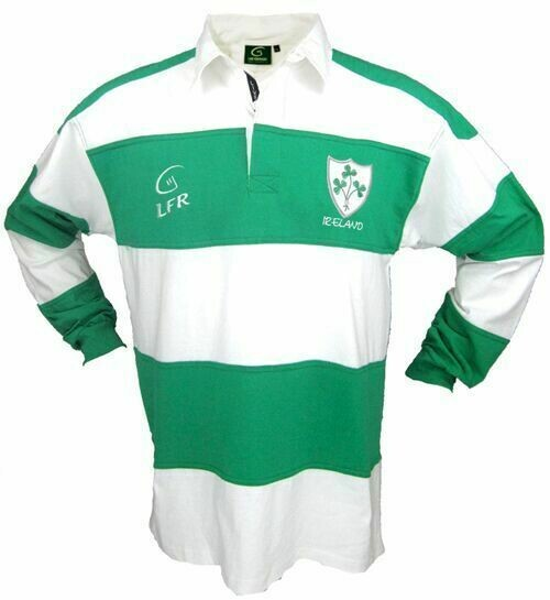 Children's Ireland Longsleeve Striped Rugby